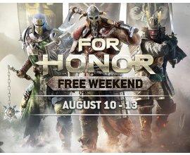 Ubisoft Store: For Honor Gratuit du 10 au 13 Août sur PC et jusqu'au 15 Août sur PS4 & Xbox One