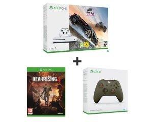 Auchan: Console Xbox One S 1To + Forza Horizon 3 + Dead rising 4 + 2e manette à 299,99€