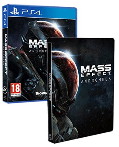 Code promo Amazon : Mass Effect : Andromeda + Steelbook sur PS4 ou Xbox One à 29,99€