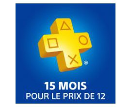 Playstation: Abonnement PlayStation Plus : 15 mois pour le prix de 12