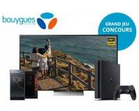 "Bouygues Telecom: 1 TV Bravia 65"", PS4 Pro et 2 smartphones Sony XPERIA XZ à gagner"