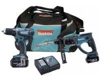Brico Privé: Jusqu'à -40% sur le pack pro 2 machines Makita (perceuse et perforateur)