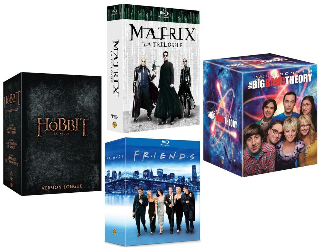 Code promo Amazon : 10€ de réduction sur une sélection de coffrets DVD et Blu-ray Warner