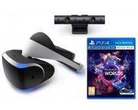 Fnac: 1 casque Playstation VR acheté = le jeu VR Worlds + la caméra PS4 V2 offerts