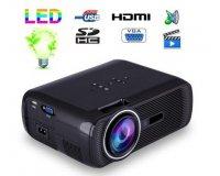 Fnac: Mini vidéoprojecteur portable LED 1000 Lumens HD Carte SD USB Noir à 99,99€