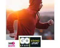 Showroomprive: Pour 20€ profitez d'un bon d'achat GO Sport de 40€