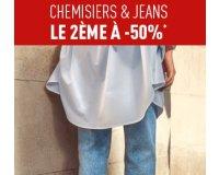 Pimkie: 50% de réduction sur le 2ème chemisier ou jeans acheté