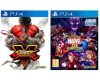 Fnac: Marvel vs. Capcom Infinite + Street Fighter V sur PS4 à 64,98€ au lieu de 84,98€