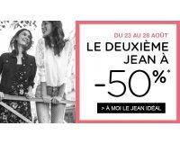 Promod: 2 jeans collection Automne-Hiver 2017 achetés = -50% sur le moins cher