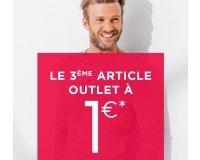 Brice: Le 3ème article outlet à 1€ seulement