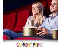 Groupon: 1 place de cinéma Gaumont et Pathé à 6,40€ valable jusqu'au 30 septembre