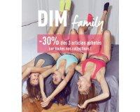 DIM: [Dim Family] -30% de réduction dès 3 articles achetés