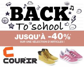 Courir: [Back to School] Jusqu'à - 40% sur une sélection de baskets