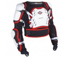 Motoblouz: Gilet de protection cross Shot Optimal blanc 2017 à 64,90€ au lieu de 99,90€