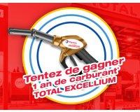 Total: Tentez de gagner un an de carburant avec Total Excellium