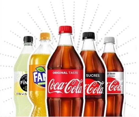 Code promo Coca Cola : Bons de réduction à imprimer : jusqu'à -30€ sur vos boissons préférées
