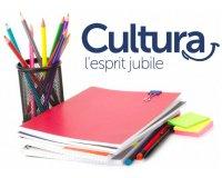 Cultura:  10% de réduction sur les fournitures scolaires dès 70€ d'achat