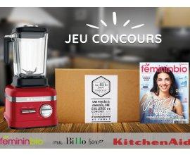Féminin Bio: 1 SuperBlender Artisan KitchenAid, 1 BiHo box... à gagner