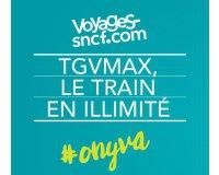 Voyages SNCF: [16-27 ans] Voyagez en train en illimité pour 79€/mois avec l'abonnement TGVmax