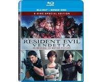 "Jeuxvideo.com: 20 Blu-ray du film ""Resident Evil : Vendetta"" à gagner"