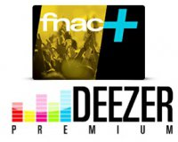 Showroomprive: 1 an d'abonnement à la carte Fnac+ et 3 mois à Deezer Premium pour 9.99€