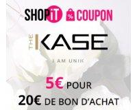 Showroomprive: Payez 5€ le bon d'achat The Kase d'une valeur de 20€