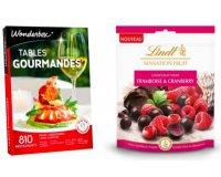 Wonderbox: 1 sachet Lindt Sensation Fruit offert pour l'achat d'un coffret Gastronomie