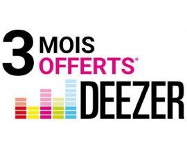 Darty: 3 mois d'abonnement à Deezer Premium offerts dès 49€ d'achat de produit audio