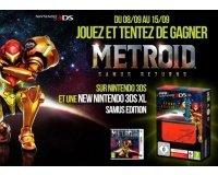 Jeuxvideo.com: 1 New Nintendo 3DS XL & 10 jeux 3DS Metroid à gagner