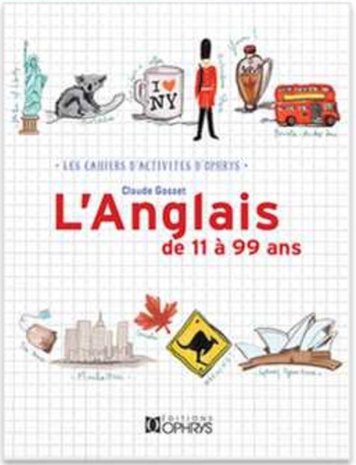 Code promo Femme Actuelle : 20 cahiers d'activités Ophrys L'anglais de 11 à 99 ans à gagner