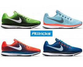 Alltricks: Les chaussures de running Nike Pegasus 34 à 89,99€ au lieu de 120€