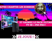 GAME ONE: 1 TV 4K incurvée + 1 PS4 pro et d'autres cadeaux à gagner par tirage au sort