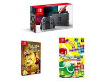 Amazon: Console Nintendo Switch Gris + Rayman Legends + Puyo Puyo Tetris à 349,99€