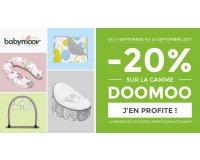 Allobébé: -20% de réduction sur la gamme Doomoo