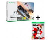 Cdiscount: Pack Xbox One S 500 Go Forza Horizon 3 + NBA 2k18 à 249€