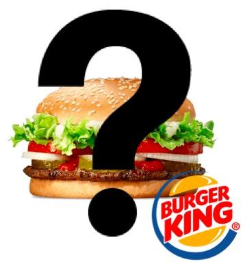 Code promo Burger King : Burger Mystère à 2€ dans les restaurants participants