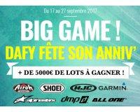 Dafy Moto: Plus de 5000€ de lots pour la moto à gagner par tirage au sort