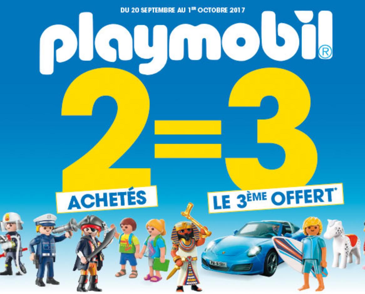 2 jouets playmobil achet s le 3 me le moins cher offert - Code promo king jouet frais de port gratuit ...