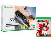 Micromania: NBA 2K18 offert pour l'achat d'un pack Xbox One S 1To + Forza 3