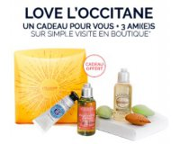 L'Occitane: Un coffret offert en boutique sur simple visite