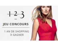 Le Journal des Femmes: 1000€ sous forme de bons d'achats à valoir sur le site de 1.2.3 à gagner