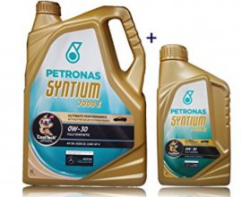 Oscaro: 1 bidon de 5L d'huile moteur Petronas Syntium acheté = 1 bidon d'1L offert
