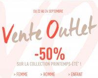 DIM: [Vente Outlet] -50% sur la collection Printemps-Eté 2017