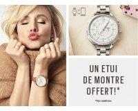 Histoire d'Or: 1 étui de montre offert pour l'achat d'une montre connectée hybride Fossil