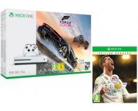 Micromania: FIFA18 Edition Ronaldo et 30€ offerts sur une sélection de pack Xbox One S 500Go