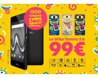 Sosh: 1 smartphone Wiko Tommy 2 acheté = 1 coque Sosh édition limitée offerte