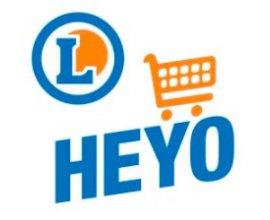 E-Leclerc: Prospectus, bons de réduction et liste de courses grâce à l'application Heyo
