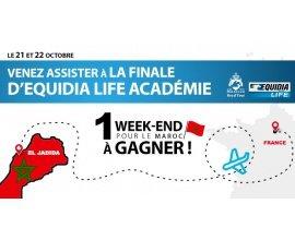 Equidia.fr: 1 week-end au Maroc pour assister à la finale d'Equidia Life Académie à gagner