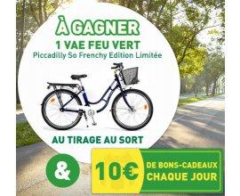 Feu Vert: Un vélo à assistance électrique Piccadilly So Frenchy à gagner