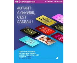 Carrefour: Jusqu'à 2500 euros de cartes cadeaux à gagner